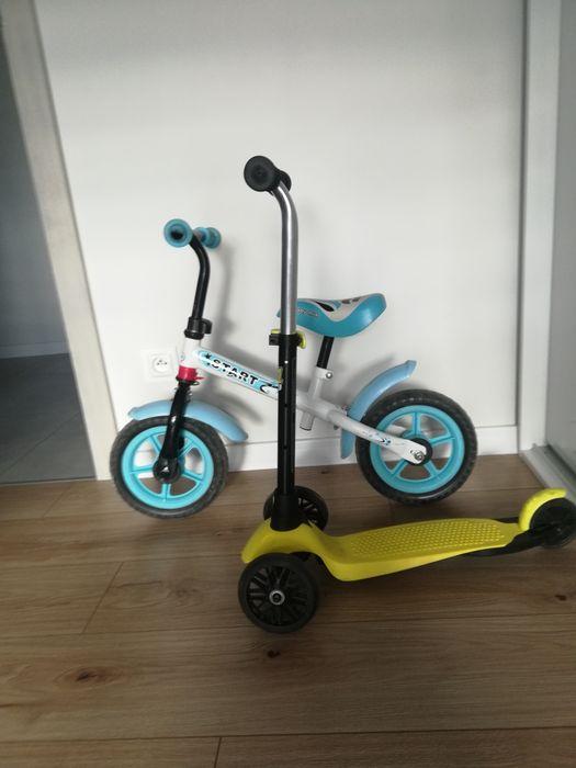 Hulajnoga, rowerek biegowy, kask Wadowice - image 1