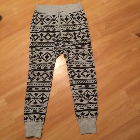 Spodnie dresowe meskie H&M r.M
