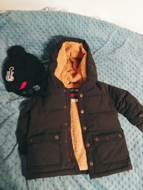 Kurtka zimowa chłopięca Zara 12-18 m