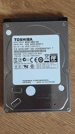 """HDD TOSHIBA 1TB 2,5"""" MQ01ABD100 SATA II 8MB 5400 RPM 100% Sprawny !!!"""