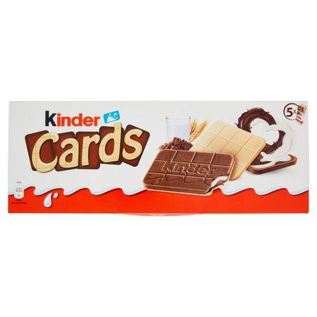 Печенье Киндер Кардс, Kinder Cards 128g (*5шт)