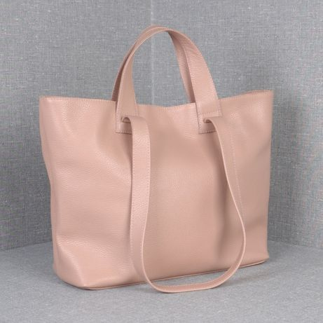 ХИТ! Женская кожаная сумка 2в1, 31х35х15см купить в Украине