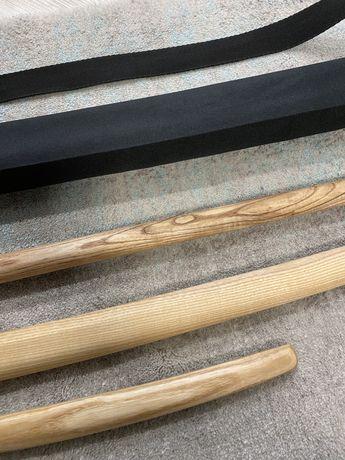 Набор предметов оружия для айкидо