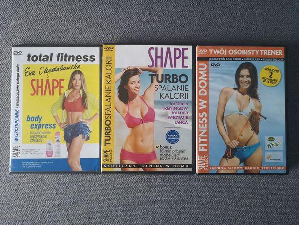 DVD ćwiczenia fitness w domu odchudzanie Chodakowska