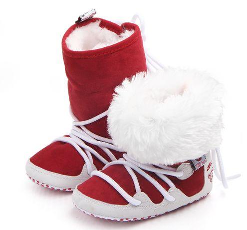 Stylowe Śniegowce niechodki dla niemowląt
