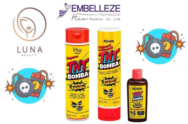 Pack Novex 3 Produtos TNT Bomba