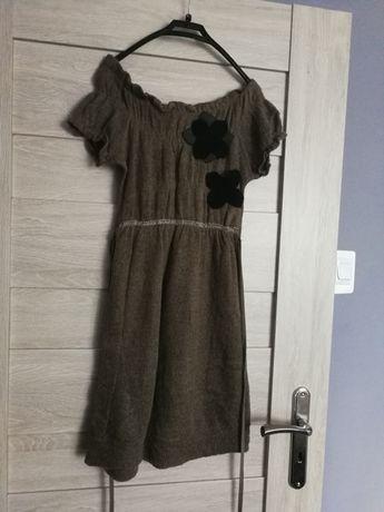 Ciepła tunika, sukienka