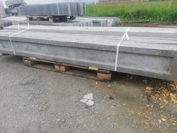 Podmurówka betonowa ogrodzeniowa 245x25 II gatunek