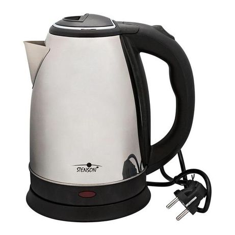Чайник электрический Stenson 1.8л 1800w ME-1049, Steel/Black