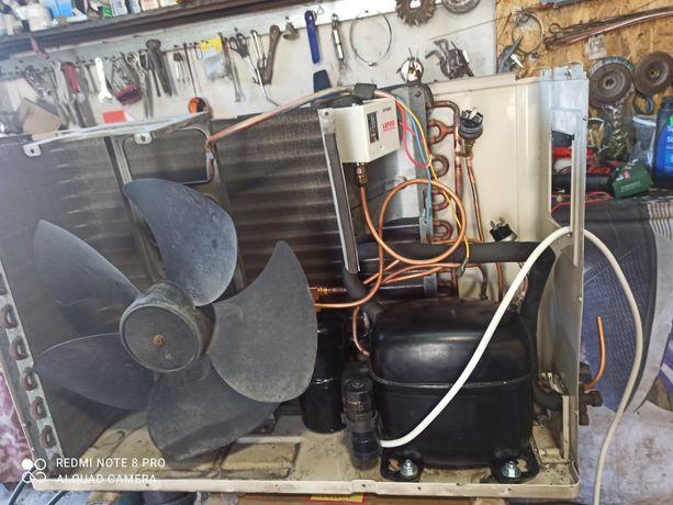 Холодильные камеры, агрегаты, Ремонт холодильников