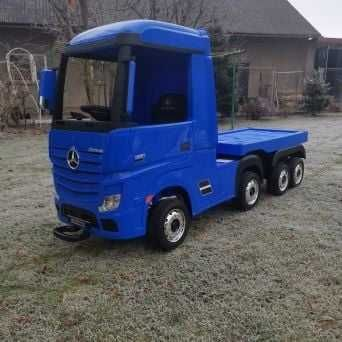 Pojazd na Akumulator dla dzieci  Mercedes Actros + Przyczepa