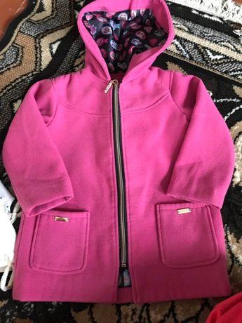 Пальто для девочки кашемир на 3 года