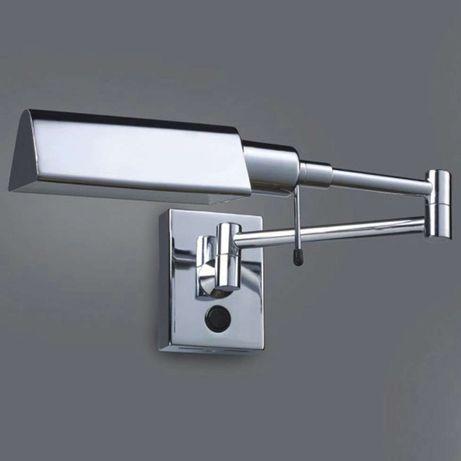 Kinkiet lampa ścienna loftowa na wysięgniku ITALUX SENTI chrom
