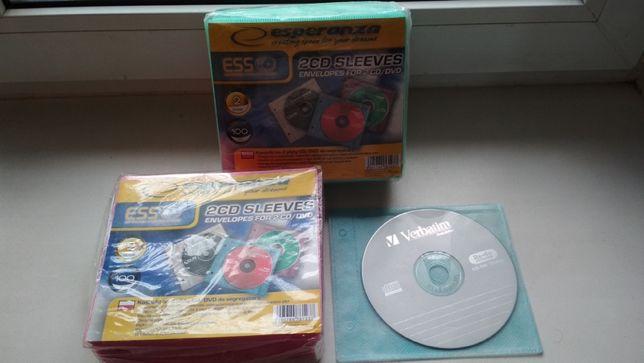 Конверт-пакет для 2 CD / DVD с перфорацией цена за упаковку