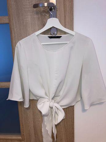 Bluzka Zara z wiązaniem