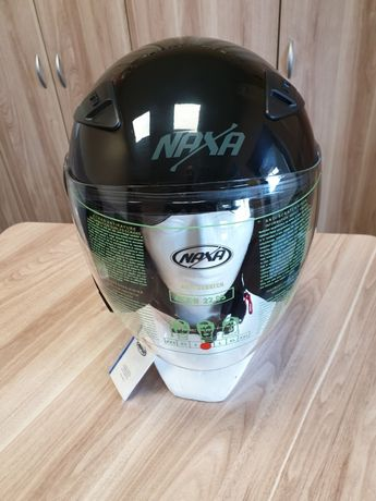 KASK otwarty NAXA S17/A połysk+BLENDA
