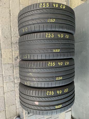 Шини резина 255/40r20 Continental 5-6mm 4шт. Лето летнте
