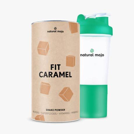 NATURAL MOJO FIT SHAKE-Zestaw Fit Caramel+ shaker