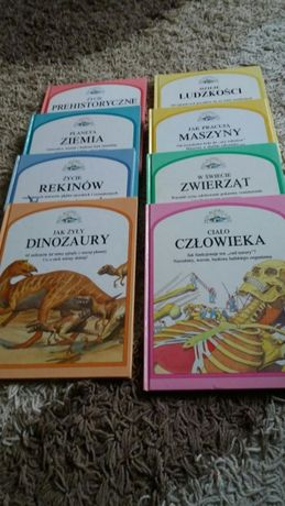 Encyklopedie zestaw 7 ksiazek.