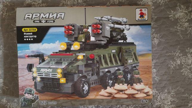Лего детали на военную тематику