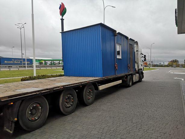 Доставимо, привеземо контейнер, або вагончик, еврокуб