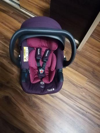 Sprzedam nosidełko BabySafe York plus adapter do wózka firmy Adamex