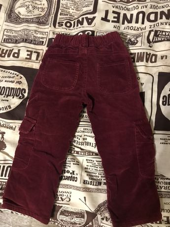 Детские зимние штаны для девочки