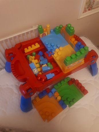 Столик з конструктором Mega bloks