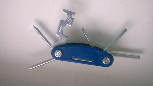 NOWY mini zestaw kluczy rowerowych
