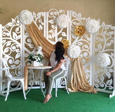 Ścianka weselna, parawan