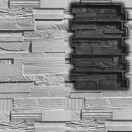 """Резиновая форма для деревянной мозаики """"Винтаж"""" - плитка под дерево"""