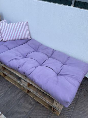 Almofada para sofá de paletes