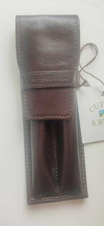 Ручки Набор Cutter & Buck Classic American collection в кожаном чехле
