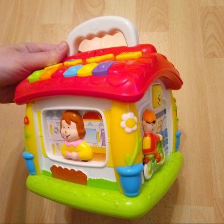 Английский обучающий домик Huile Toys музыкальний игрушка