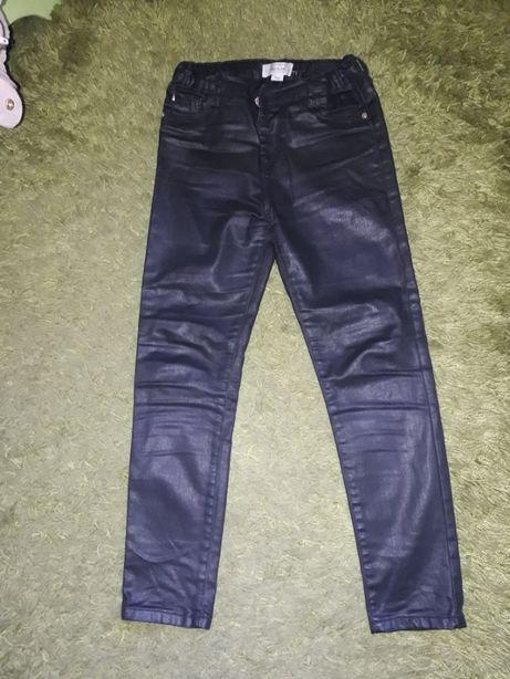 Джинсы-лосины кожаные на рост 134см