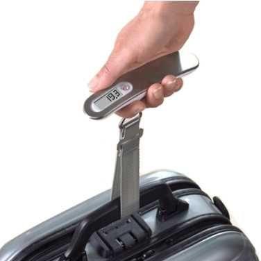 Дорожные электронные весы для взвешивания багажа KS Scalesforbag