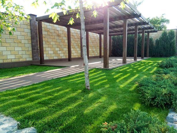 УКЛАДКА партерного ГАЗОНА, укладка травы в рулонах, продажа газона