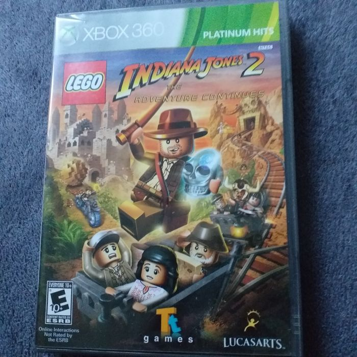 Gra Lego India Jones 2 Xbox 360 Strzałkowo - image 1