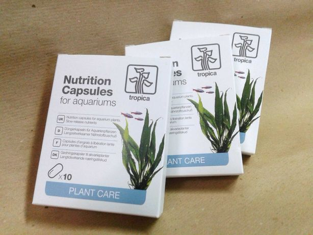 Peixes . Tropica Nutrition capsulas . fertilizante plantas aquáticas