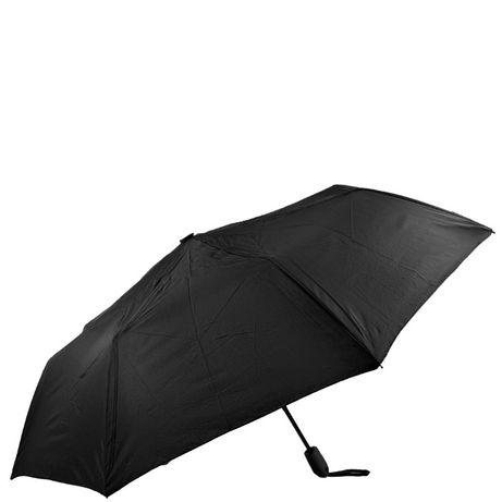 Зонт мужской полуавтомат 8 спиц сталь черный синий красный