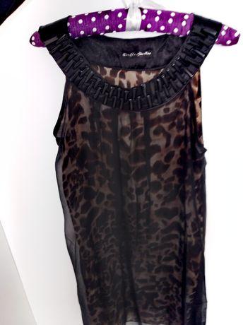 Sukienka w panterke r. M