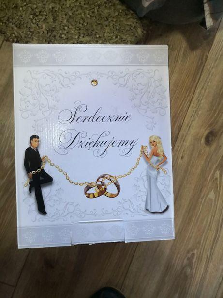 Pudełko na koperty - Pudełko na pieniądze ślub