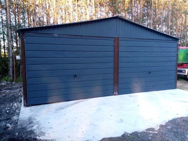 Garaż blaszany Garaże blaszane dowolne wymiary 3x5 4x6 6x5 6x6