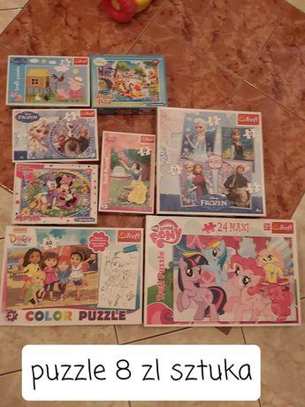 Sprzedam puzzle rożne rodzaje