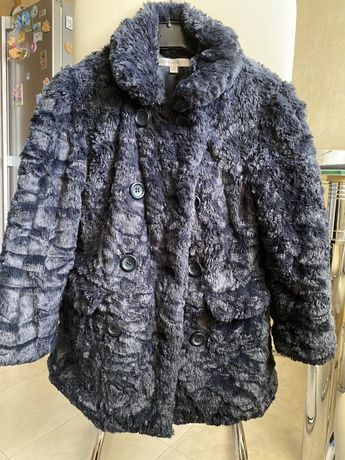 Шуба шубка пальто демисезонное, осень- зима для девочки