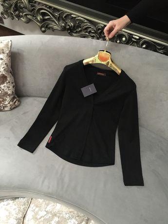 Prada Oryginalna bluzka bluza blezer Prada Milano M L czarna
