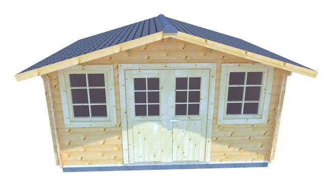 Drewniany Domek Narzędziowy - GĘŚ 400x300 powierzchnia 10,3m2!