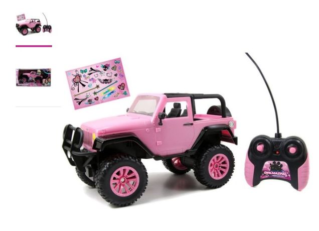Джип на пульте для девочки Jada Toys GirlMazing 1/16 Scale Remote Cont