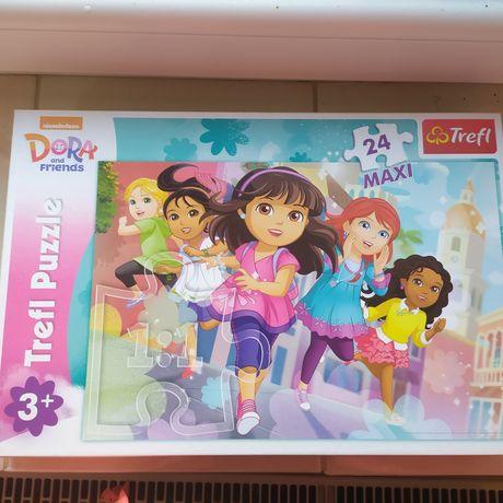 Puzzle Dora Świnka Peppa maxi 24 elementy