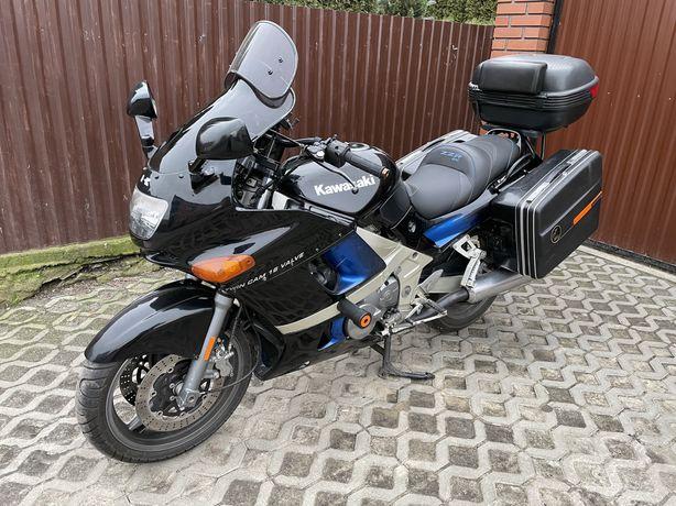 Kawasaki ZZR600 dodatki! Kufry! Cb radio!